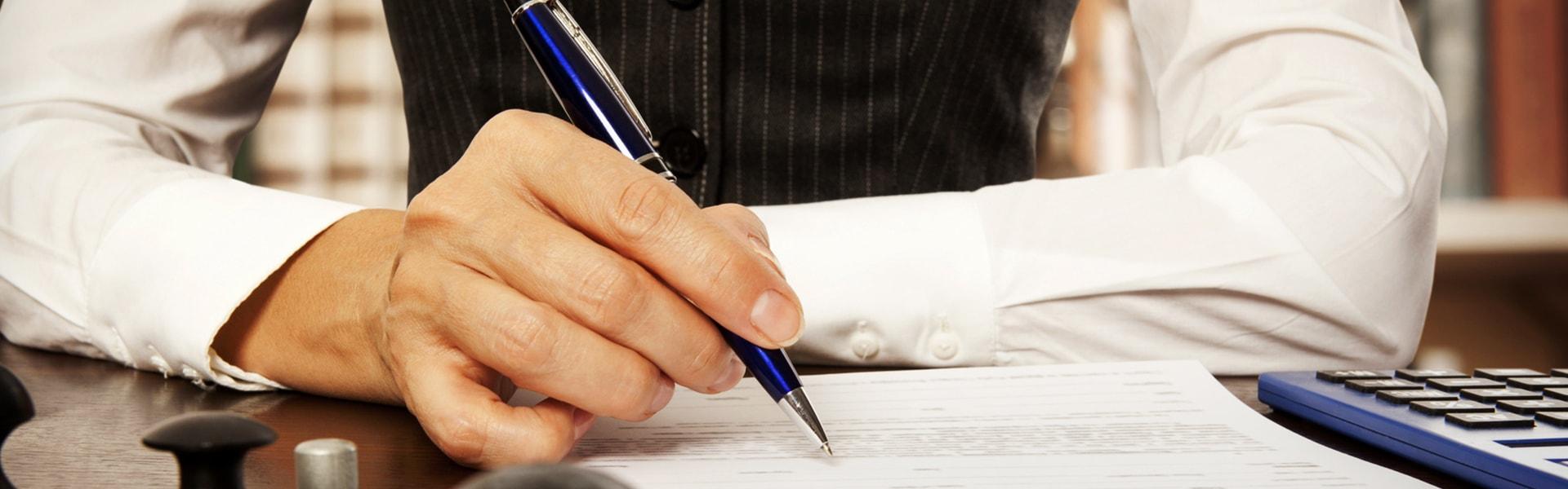 Zajmujemy się obsługą prawną przedsiębiorstw